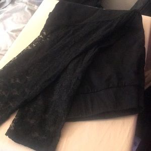 SZ 1 Torrid Lace Leggings